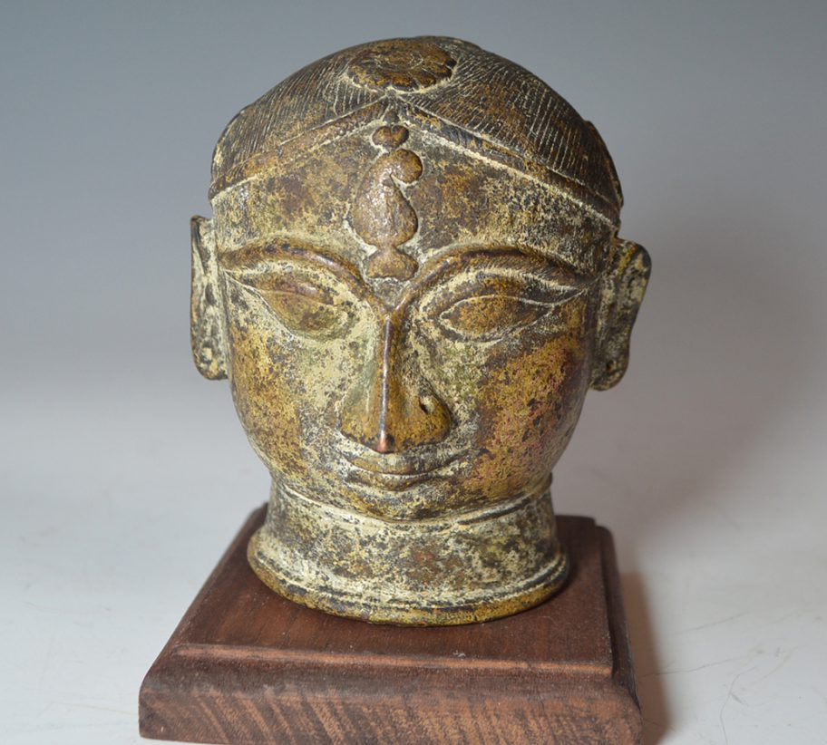 Indian_bronze Gauri_head