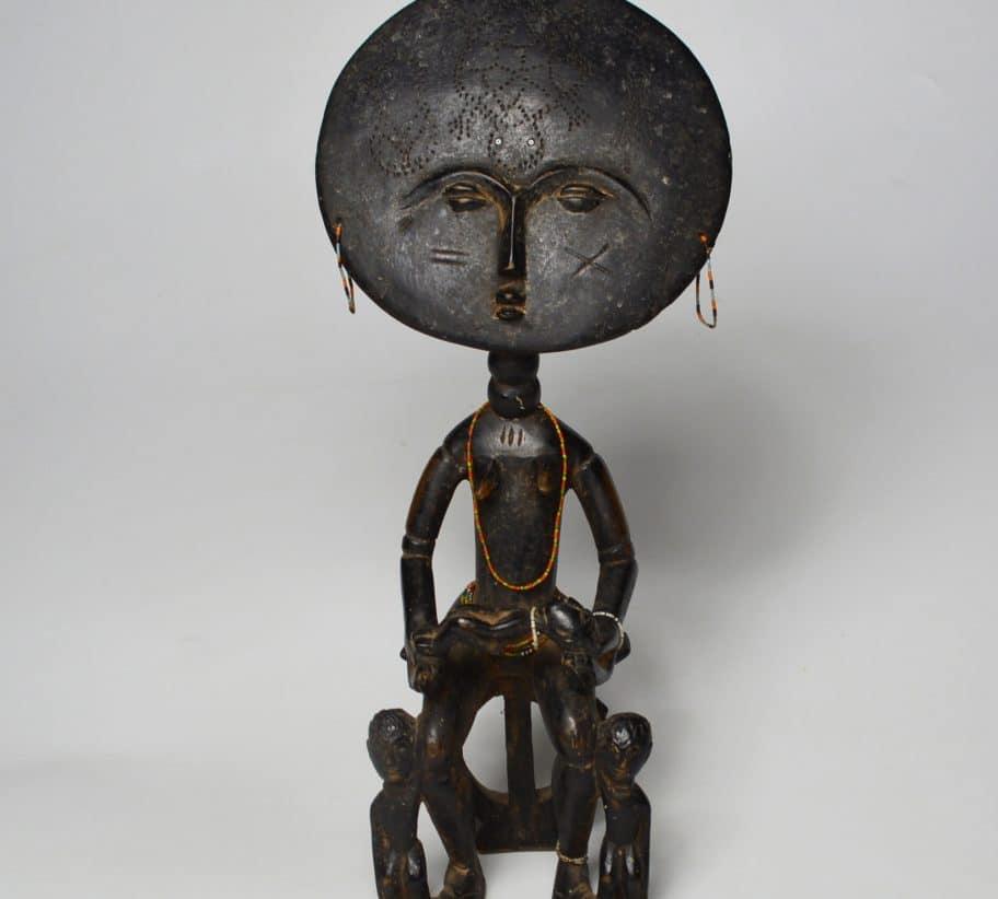 Ashanti Akua Ba maternity Figure