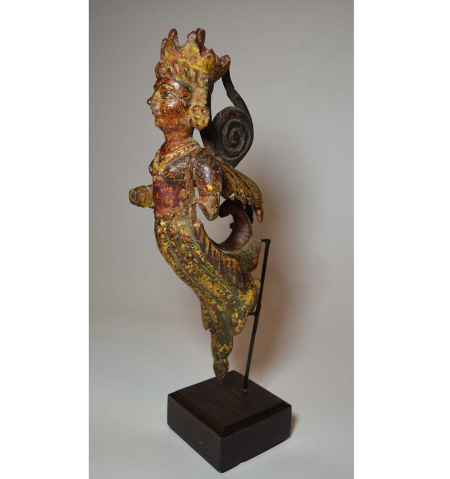 Antique south indian angel figure c 1800