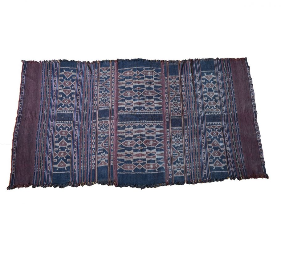 antique ikat cloth sulawesi indonesia