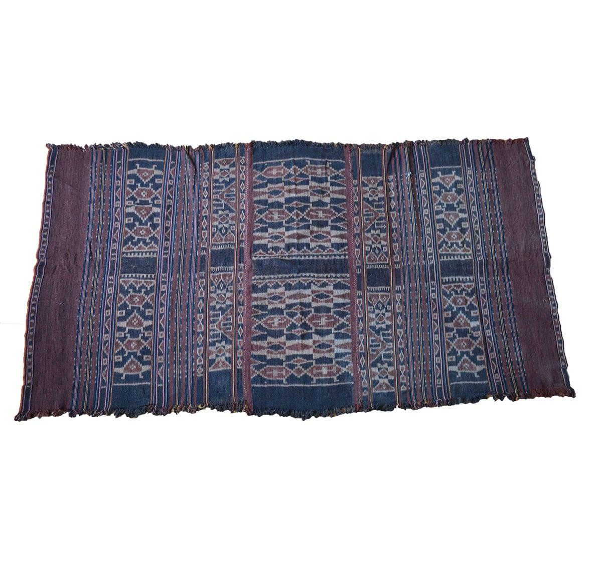 antique ikat cloth sulawesi indonesia
