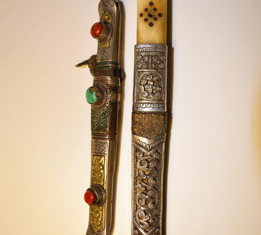 antique Tibetan knives