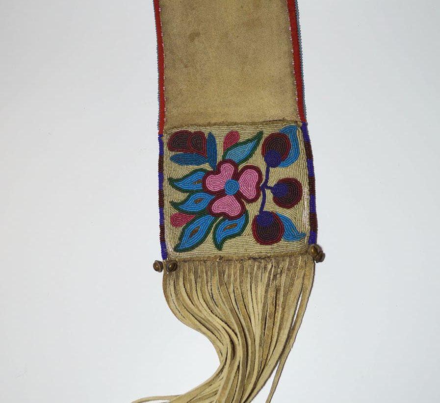 ojibwe pipe bag native american
