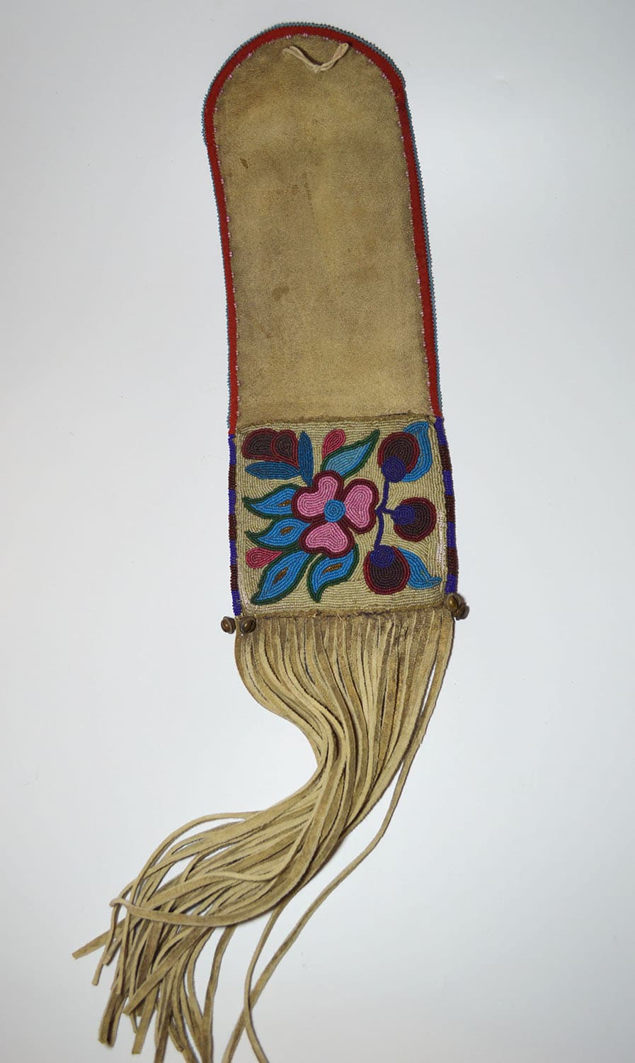 ojibwe pipe bag native american