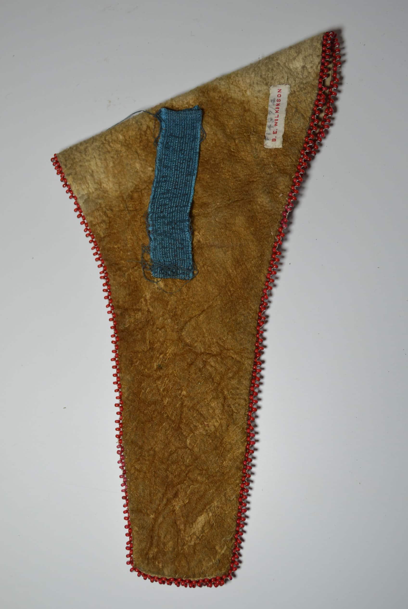 Old Native American Indian Chippewa bead work