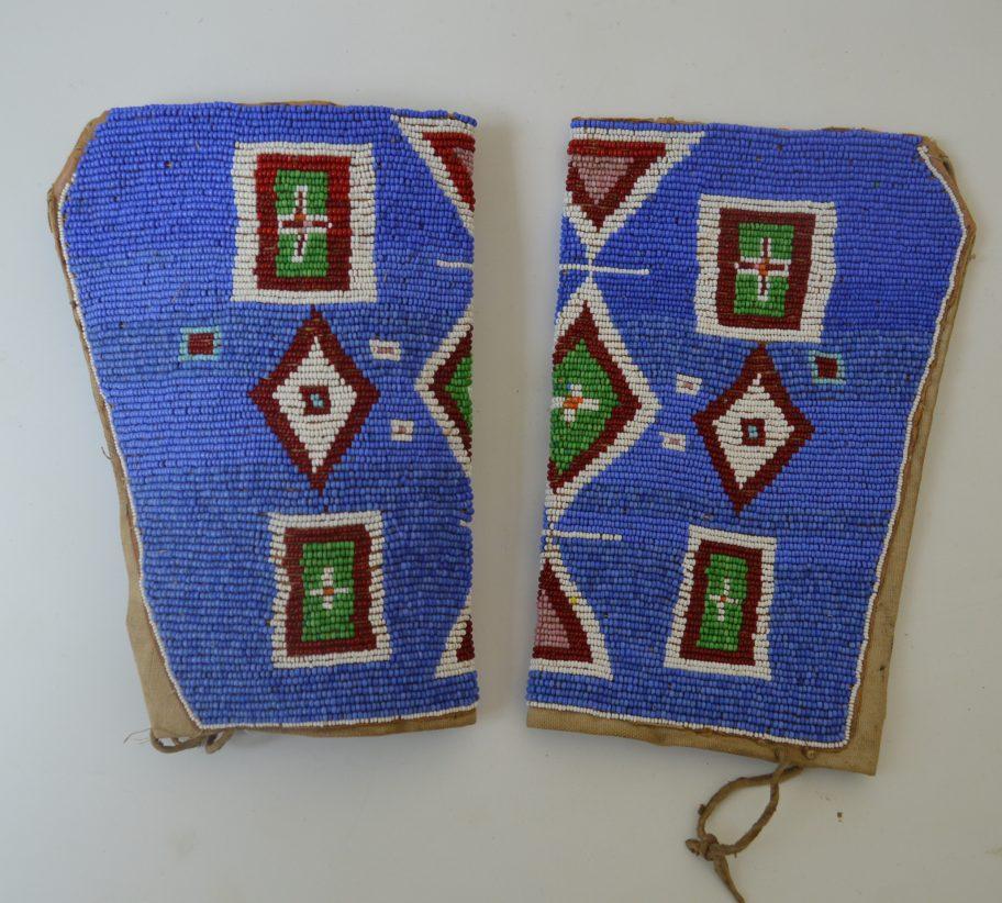 Native American Plains Beaded cuffs