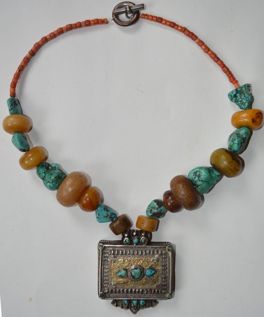 Tibetan Gau necklace