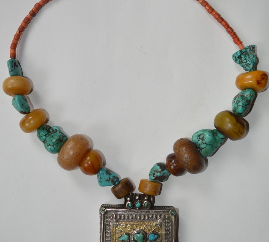 Tibetan Gau necklace
