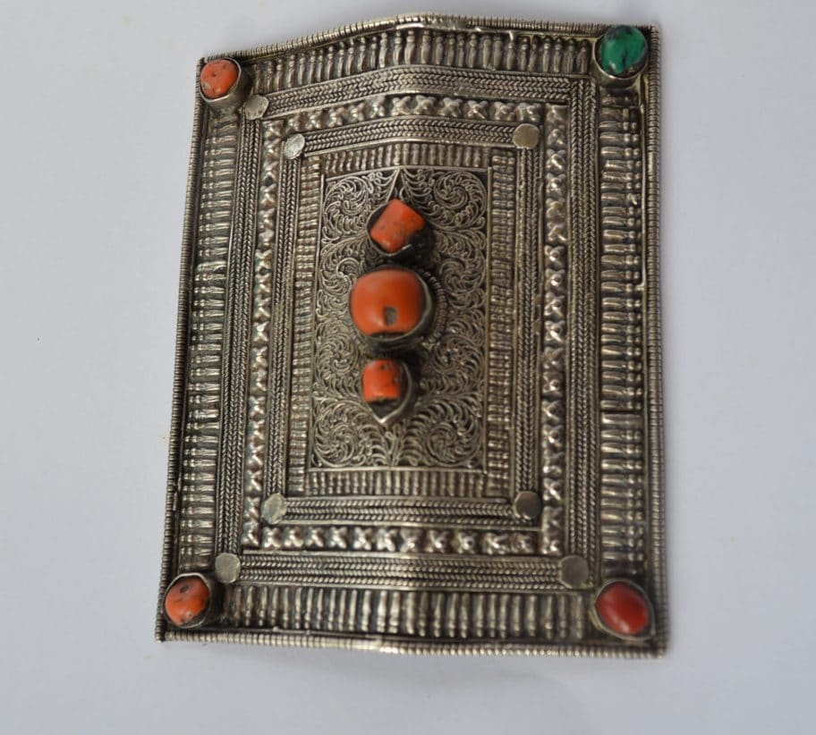 Tibet silver antiques